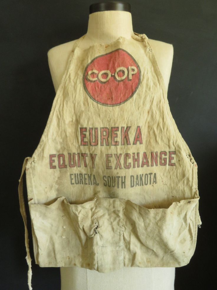 Antique Coop Bib Apron Eureka Equity Exchange Eureka