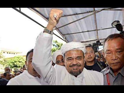 """""""Habib Rizieq"""" Datangi POLDA JABAR Untuk Diperiksa Polisi DiKawal Ribuan..."""