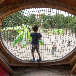 [Playscapes Blog] - Lizard Country, Rathenow Germany, ZimmerObst, 2015 #playscapes #playground #snakes #architecture #design