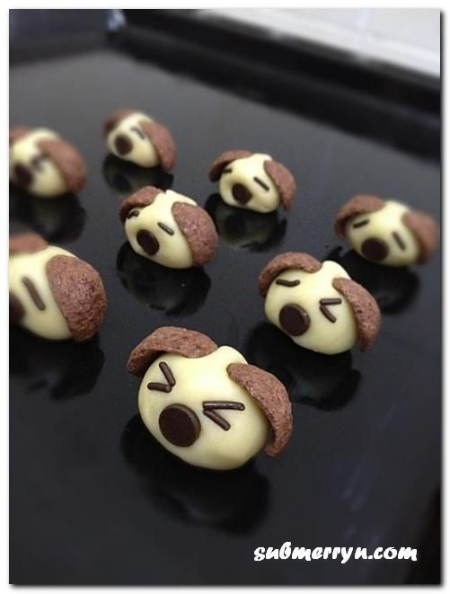 Cute Doggie Cookies