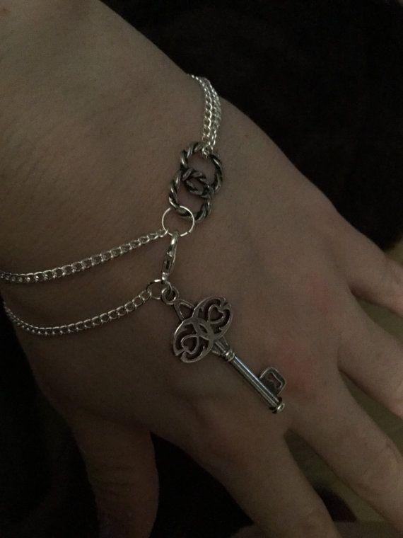 Lucky key charm bracelet by DesignsBySunshineUK on Etsy