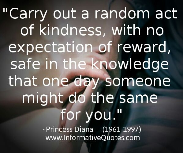 One Random Act Of Kindness At A Time Quote: 18 Best Images About Kindness Quotes On Pinterest