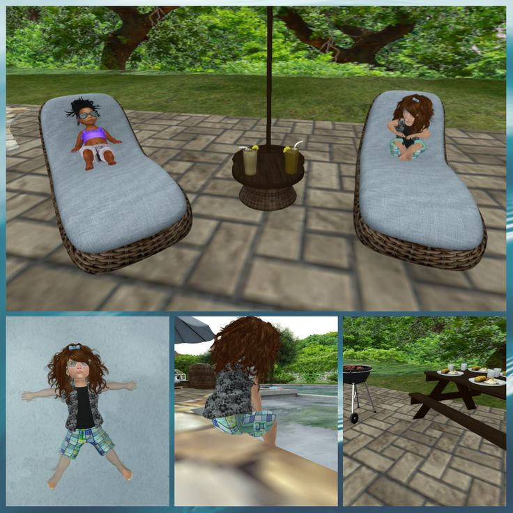 I had my friend Cora over a pool party. We enjoyed catching some rays, swimming in the water to cool off during a very hot and enjoying some very yummy bbq treats. I took some time to play in the w...