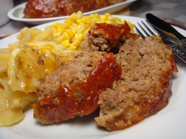 Horseradish Meatloaf from Food.com:   								This is not your ordinary meatloaf.  Horseradish in both the meat mixture and the saucy topping creates a really nice flavor throught this meatloaf.  From America's Best Recipes, submitted by Maxine Johnston Scholtz.
