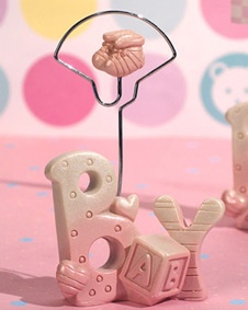 baby place card holder