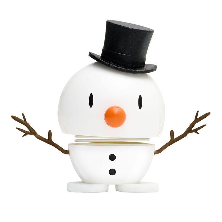 Hoptimist Baby Snowman, White - Hoptimist - Hoptimist - RoyalDesign.com
