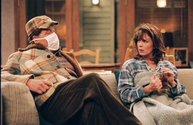 Still of Patricia Richardson and Earl Hindman in Home Improvement (1991)