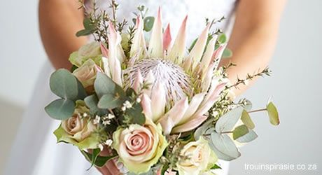 Protea Wedding Bouquet