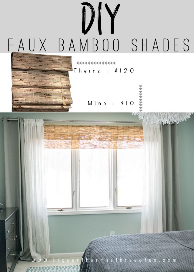 Diy Bamboo Shades The Natural Sheer Curtains And