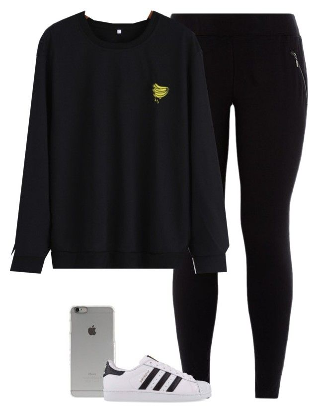 """Angel"" by fanny483 ❤ liked on Polyvore featuring Incase and adidas Originals"