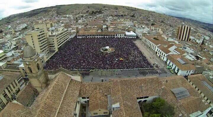 Cómo se expresa la fe en Tunja...