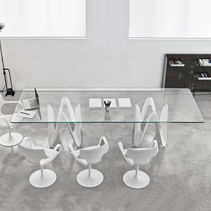 22 Best Sovet Glass Dining Tables Images On Pinterest  Dining Amusing Large Glass Dining Room Table Decorating Design