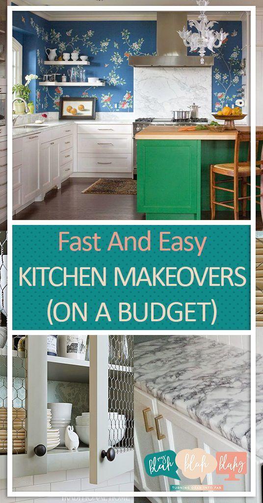 Best 25+ Budget Kitchen Makeovers Ideas On Pinterest | Budget Kitchen  Ideas, Countertop Paint Kit And Small Kitchen Makeovers