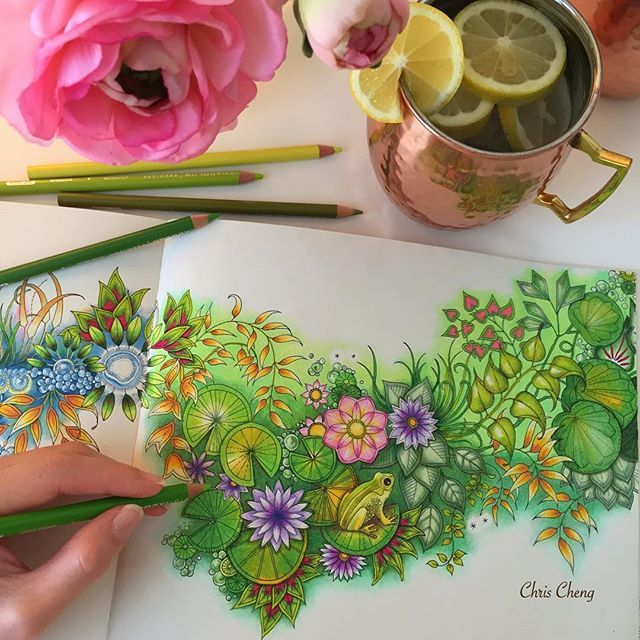 Enjoy The Little Things In Life Pier1lovecontest Moscowmug Coppermug Coloring Garden PicturesSecret GardensColoring BooksAdult