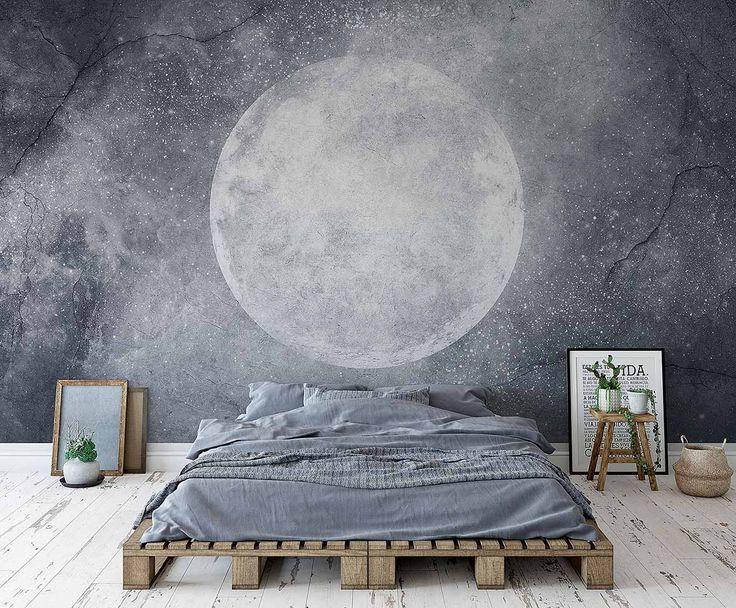 Moon :: Style Story - kolekcja fototapet WonderWall, Kraków.
