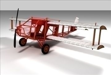 Wright Brothers Plane 3D Model-   Wright Brothers inspired model of an antique looking aircraft. Highly detailed and comes with all textures and materials. This model is available in Cinema 4D (.c4d) and 3D Studio (.3ds) formats. Thanks for looking - #3D_model #Other 3D Models,#Historical,#Other Aircraft