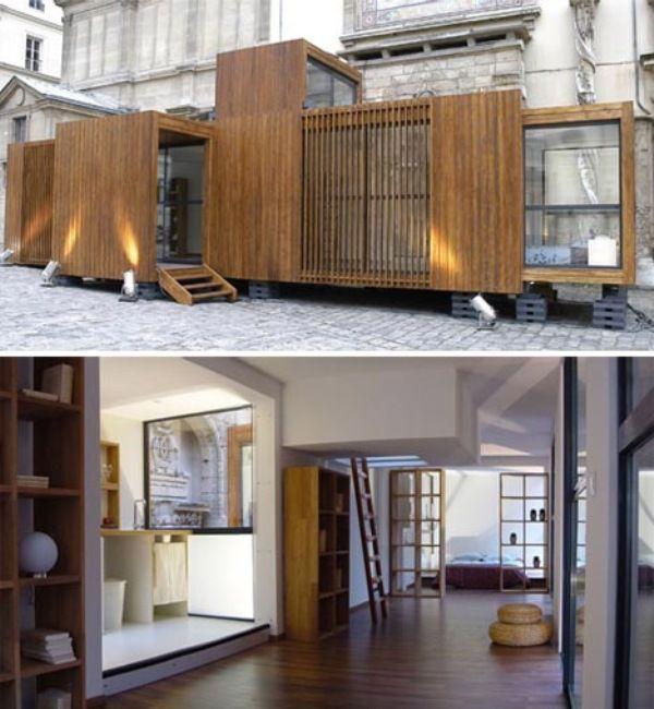 Viaggi di Architettura - Architettura temporanea: edifici prefabbricati nel mondo