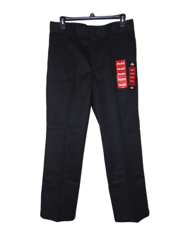 Dickies black 874 flex work pants size 36 x 32 nwt