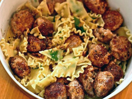 lemon and thyme risotto pork meatballs with lemon and thyme recipes ...