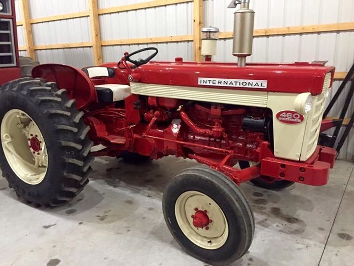 Ih 460 Utility Tractor : Images about inter farmall fourdrive on pinterest