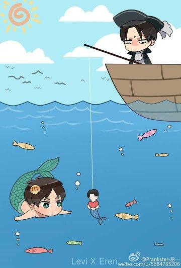 This is so moeeeeeeee Levi & Eren, Attack on Titan