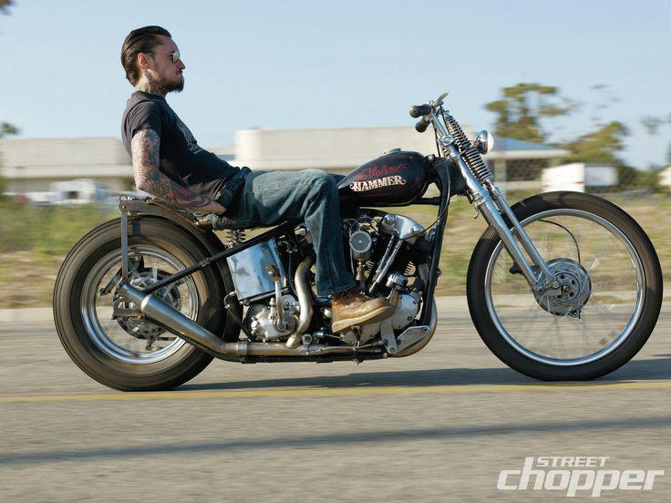 1941 Harley-Davidson Knucklehead Rigid
