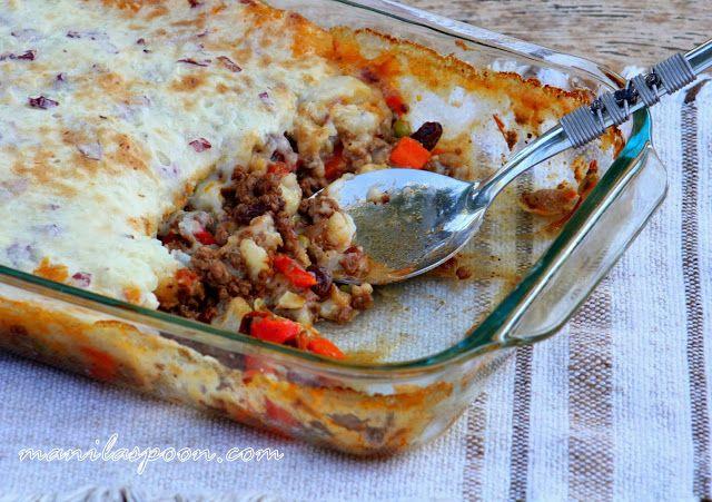 Manila Spoon: Shepherd's Pie (Filipino-style)