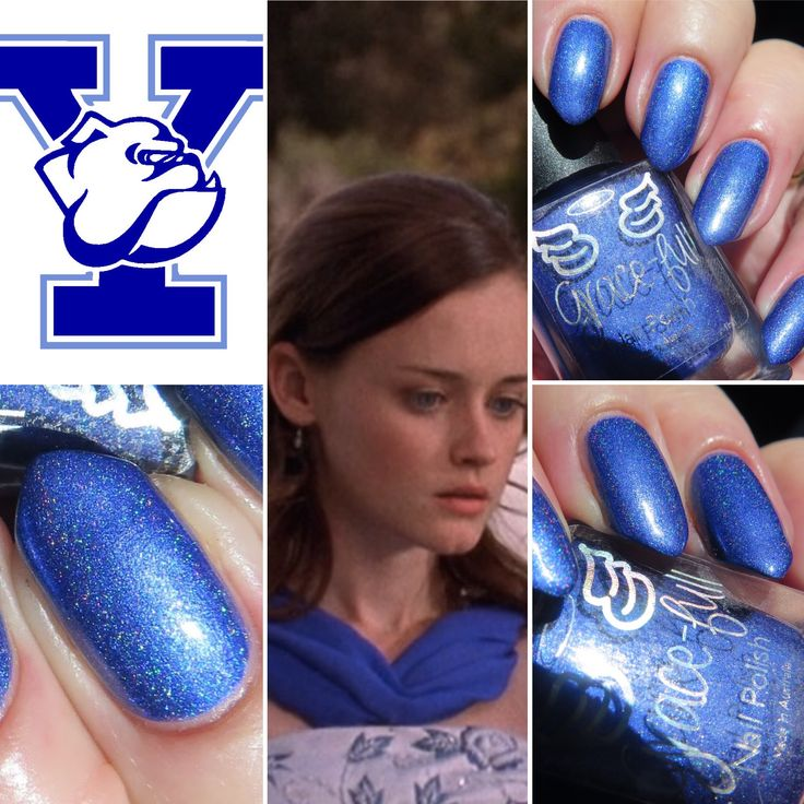 I Will Follow – the second line of the chorus to the theme song had to go to Rory. To me nothing could show Rory as well as a royal blue linear holo. Representing both Yale and Chilton Prep School ...