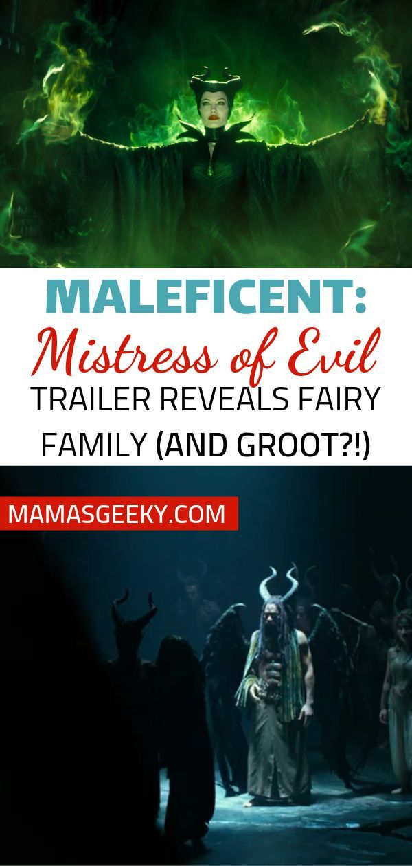 Maleficent Mistress Of Evil Trailer Reveals Her Family