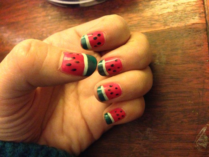 Sandias/nails/uñas