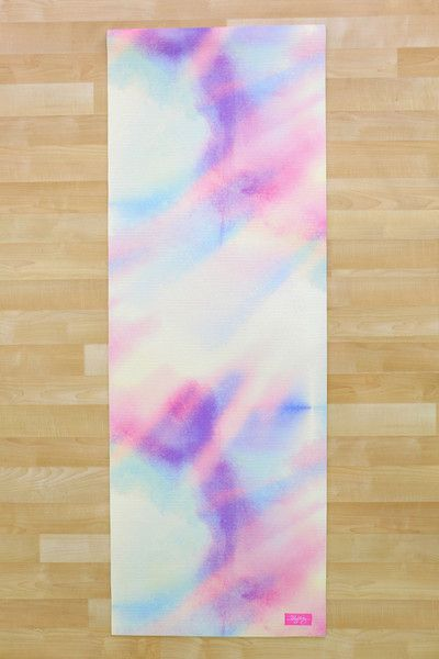 Mermaid couture yoga mat by Blogilates