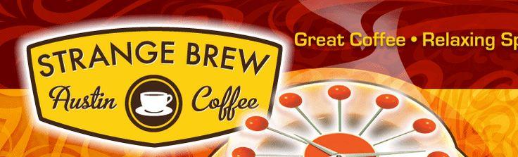 Strange Brew Coffee.  24-hour coffeeshop in South Austin.  Excellent coffee, full menu, excellent pie.