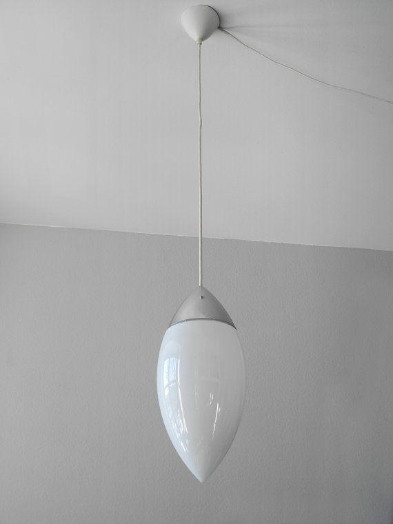 Extrem seltene schwere XXL Glashütte Limburg Glas von RetroRaum
