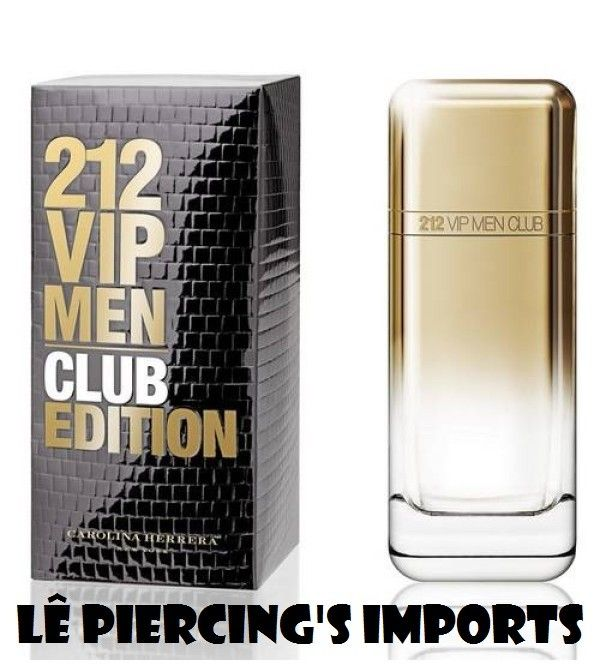 Perfume 212 Vip Men Club Edition EDT Masculino 100ml Eau de Toilette Carolina Herrera