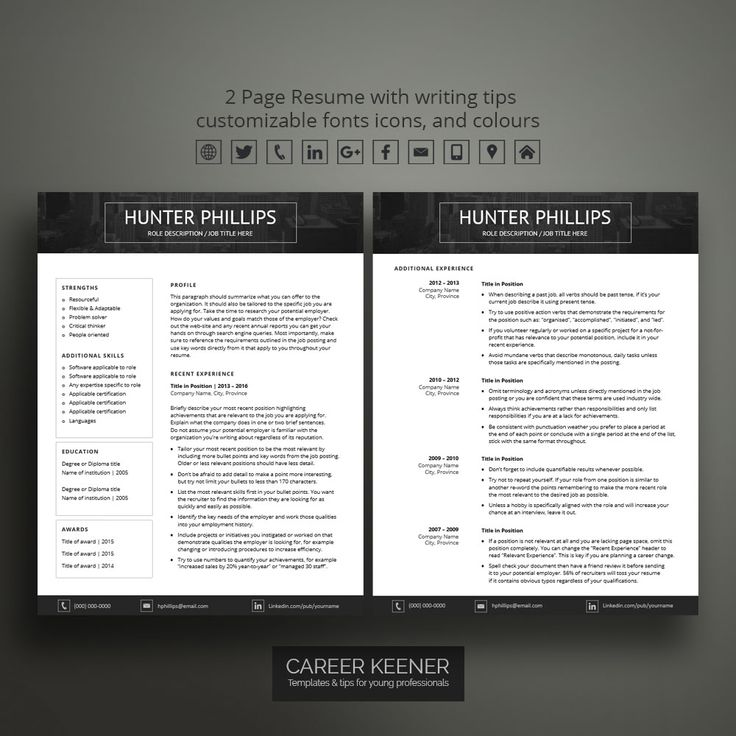 59 Best High School Resumes Images On Pinterest