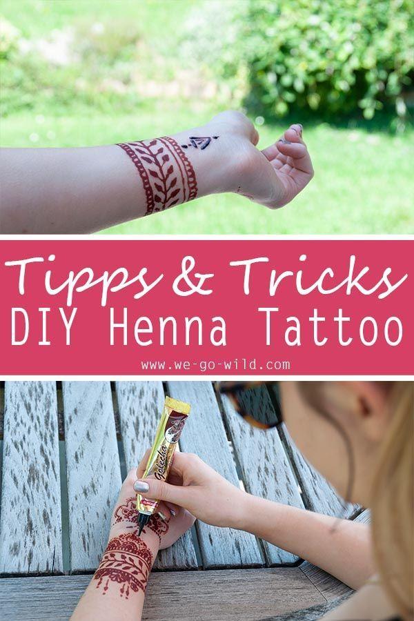 Henna Tattoo selber machen – Kunstvolle DIY Mehndis + Vorlagen  – Kunst