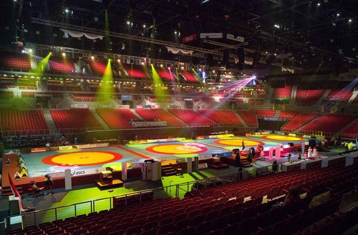 Campeonato del mundo. Wrestling. Budapest 2013. Lucha olímpica.