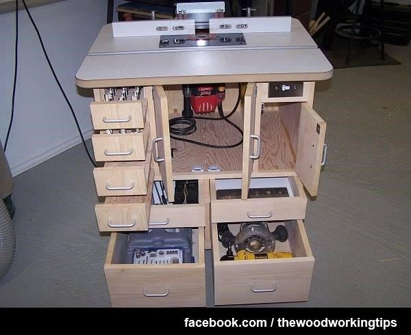 It All Started With A Few Posts In Design About Dado Blades I Was Little Distraught My Normal Router Table And Its Lack Of Organization