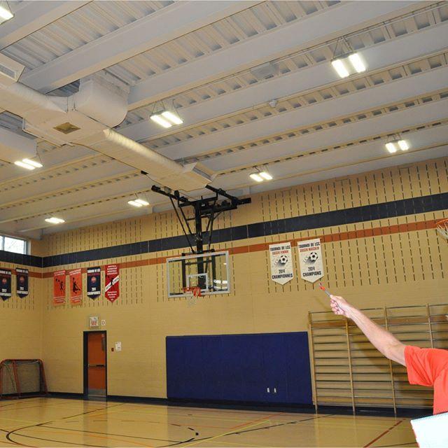 New Basketball Gym Lights