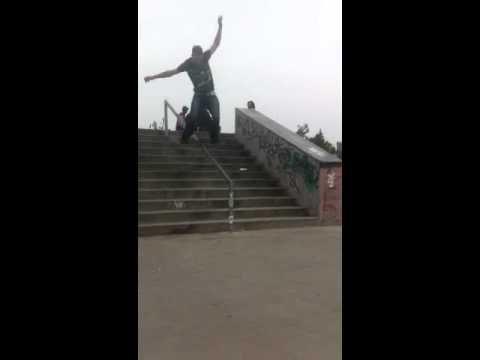 Corey with a hefty slam