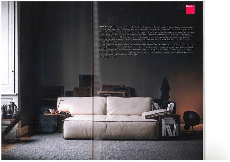 Creative Innrnrinrichter - MYWORLD, design Philippe Starck