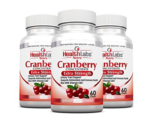 Health Labs Nutra 50:1 Triple-Strength Cranberry Concentrate 3-Month Supply with Vitamins C & E – Promotes Urinary Tract and Immune Support- (Pack of 3) at Health and Personal Care Product Search - b triple strength cranberry extract prevents utis boosts immunity and reduces plaque buildup b br br if you suffer from occasional or chronic utis health labs nutra cranberry extract could be