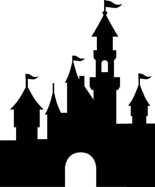 disneyland castle free vector icons designed by freepik