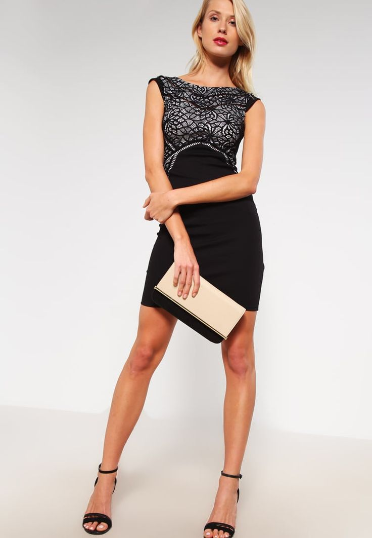 Lipsy Etuikleid black   Stylaholic  #fashion #style #mode #look #trend #sexy #outfit