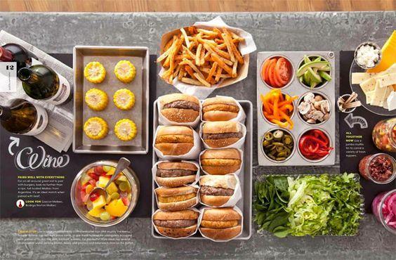 burger party, slider party, hamburger feest, burger party ideas, inspiration, burger bar: