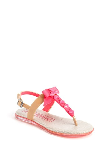 Juicy Couture 'Addie' Sandal (Toddler, Little Kid Big Kid) available at #Nordstrom