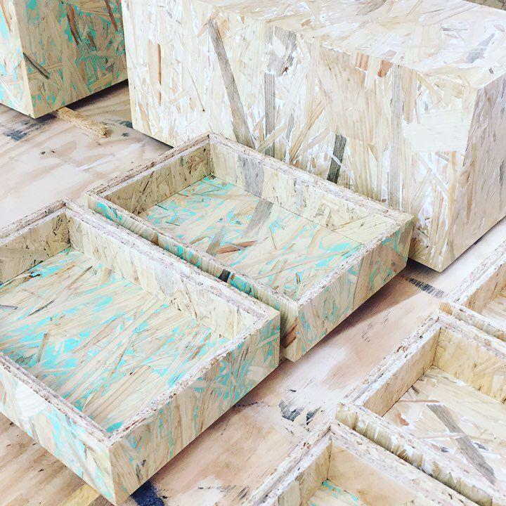 die besten 25 osb wood ideen auf pinterest. Black Bedroom Furniture Sets. Home Design Ideas