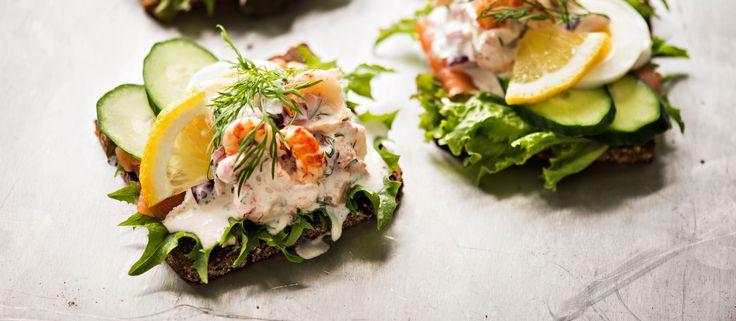 Tanskalainen rapuvoileipä | K-ruoka #kesä