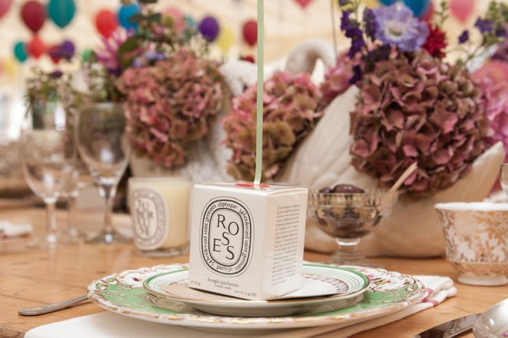 Vintage Wedding place settings for Wedding Dress Designer Kate Halfpenny and James Lee Duffy by White Door Events