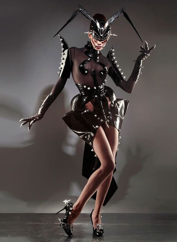 Manuel Albarran is an artist. An expert in metal couture, corsetry, leather, & many other disciplines.